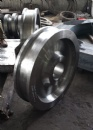 Industrial wheel forgings